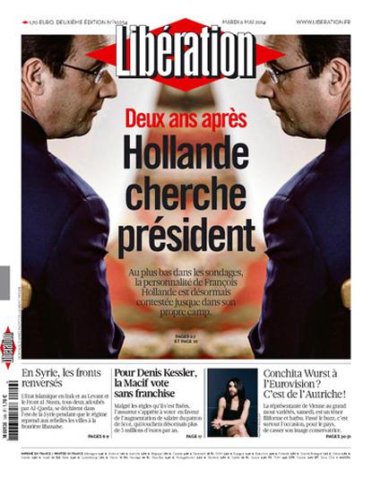 14e06 Libe 2º aniversario elección Hollande