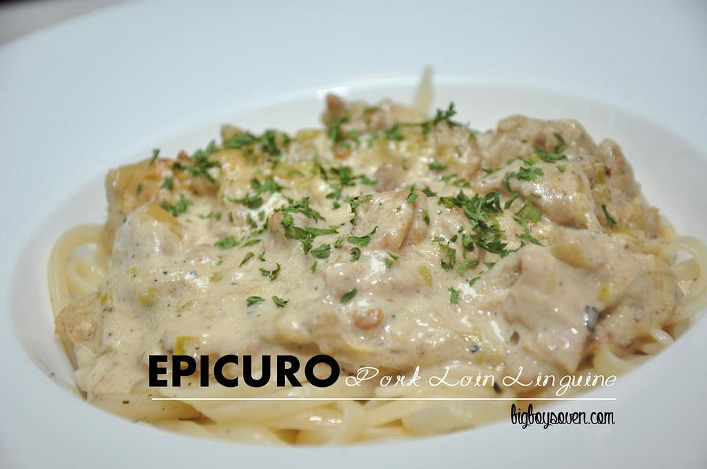 Epicuro Pork Loin Linguine
