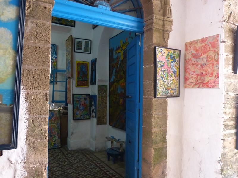 Art galery, Essaouira