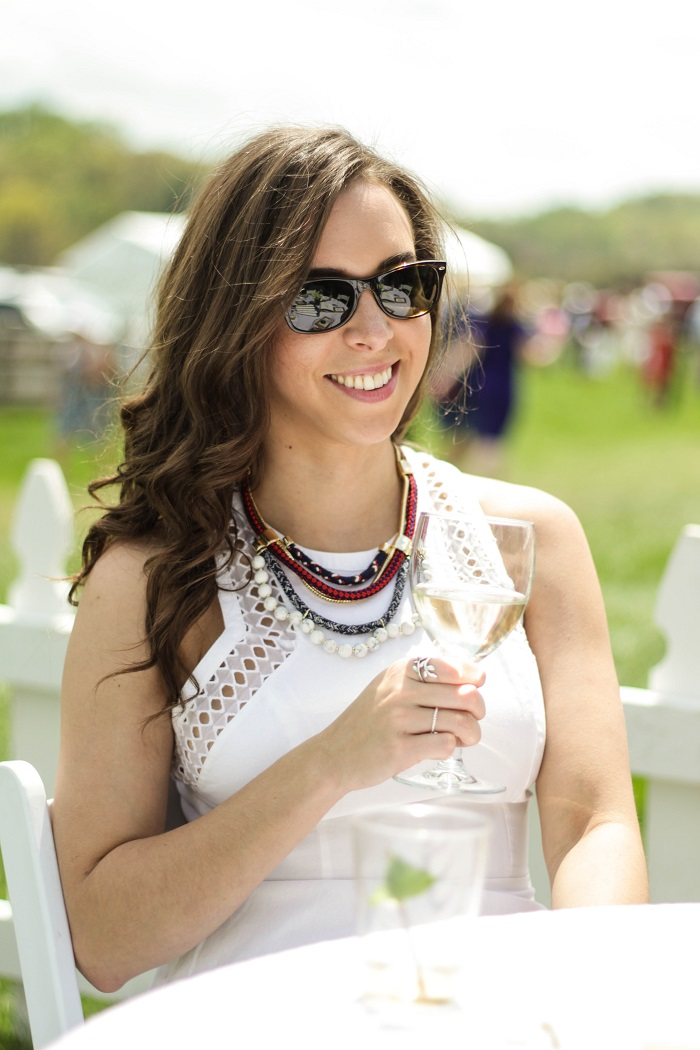va darling. dc blogger. virginia personal style blogger. virginia gold cup 2014. gold cup. american eagle sundress. cwonder necklace. 6