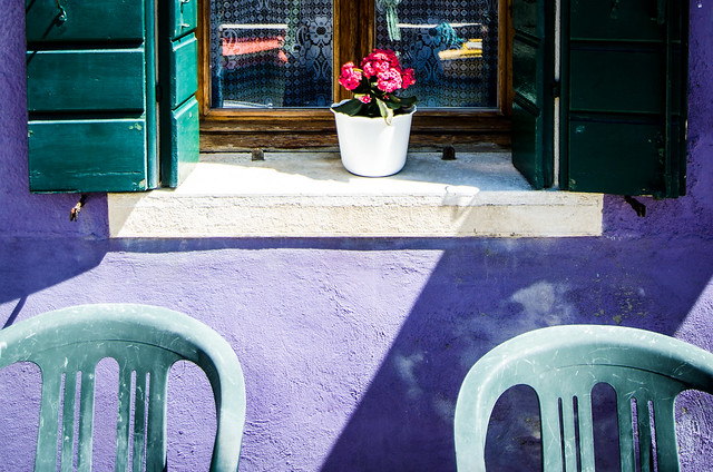 The purple houses in Burano were my favorites.