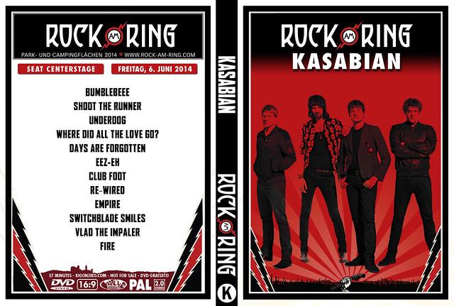 Kasabian - Rock Am Ring 2014