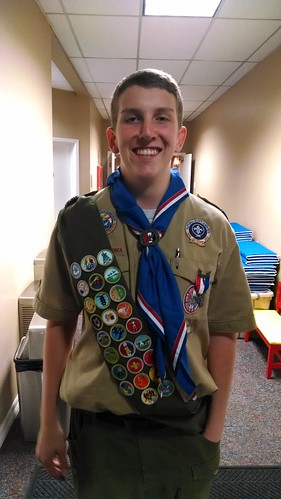 Travis: Eagle Scout
