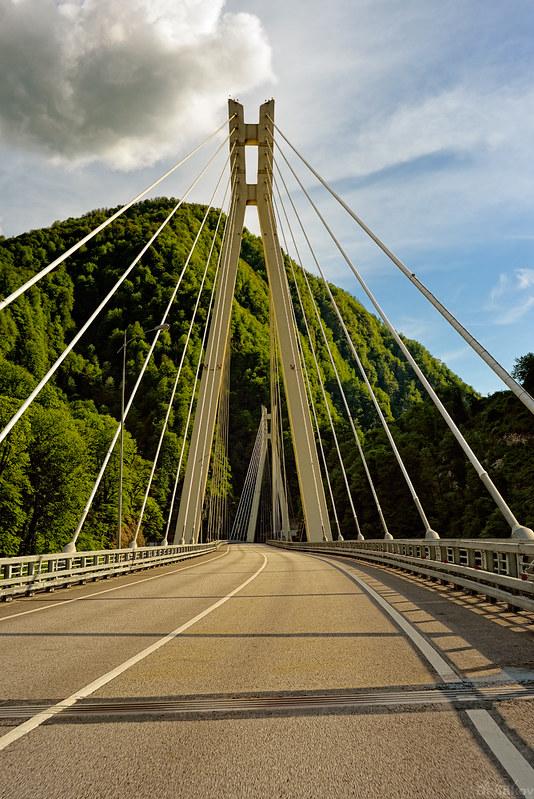 Cable-stayed bridge Kepsha