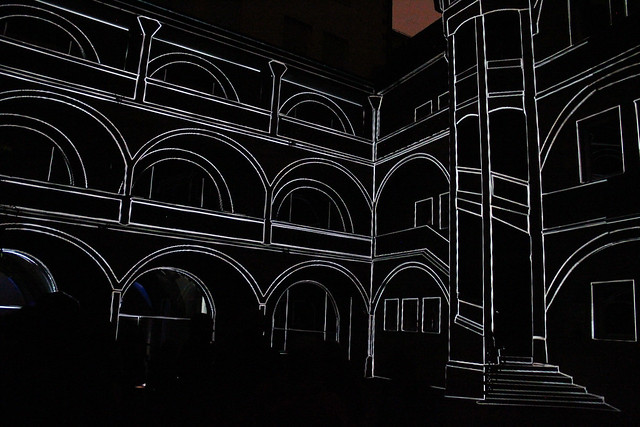 mayer+empl . KffH . interactive light sculpture . nuremberg . 2014