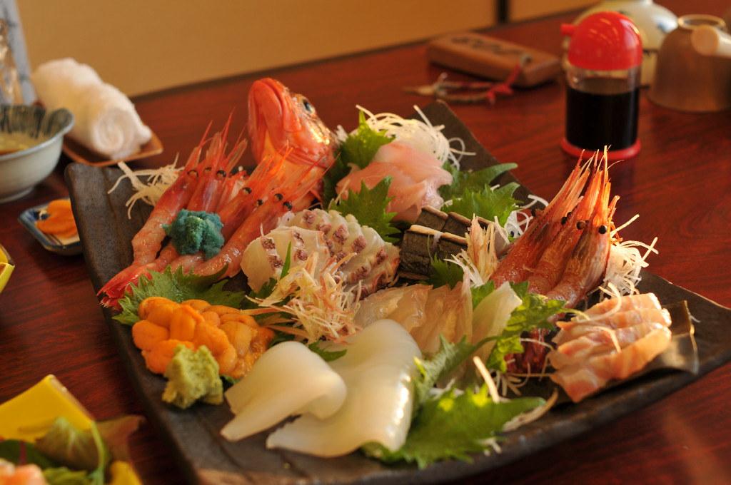 お刺身 Sashimi