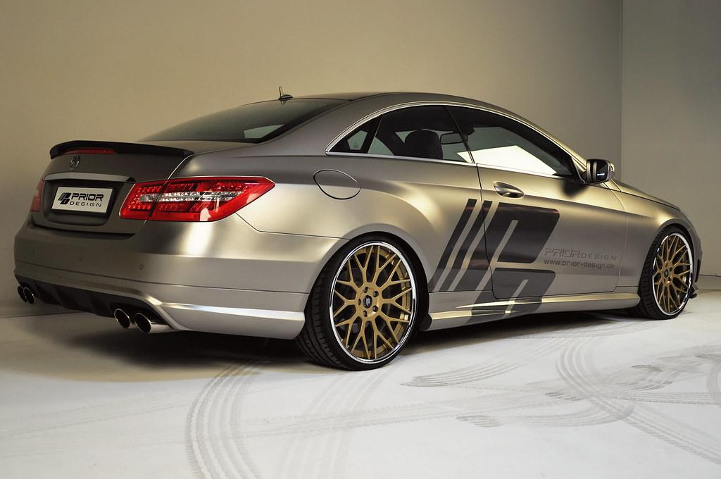 Prior design w207 e class coupe for Mercedes benz w207