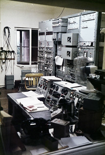 BBC Droitwich Transmitting Station - Main Control Room - 1981