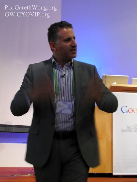 Eric van der Kleij, CEO Tech City Investment Organisation IMG_3452