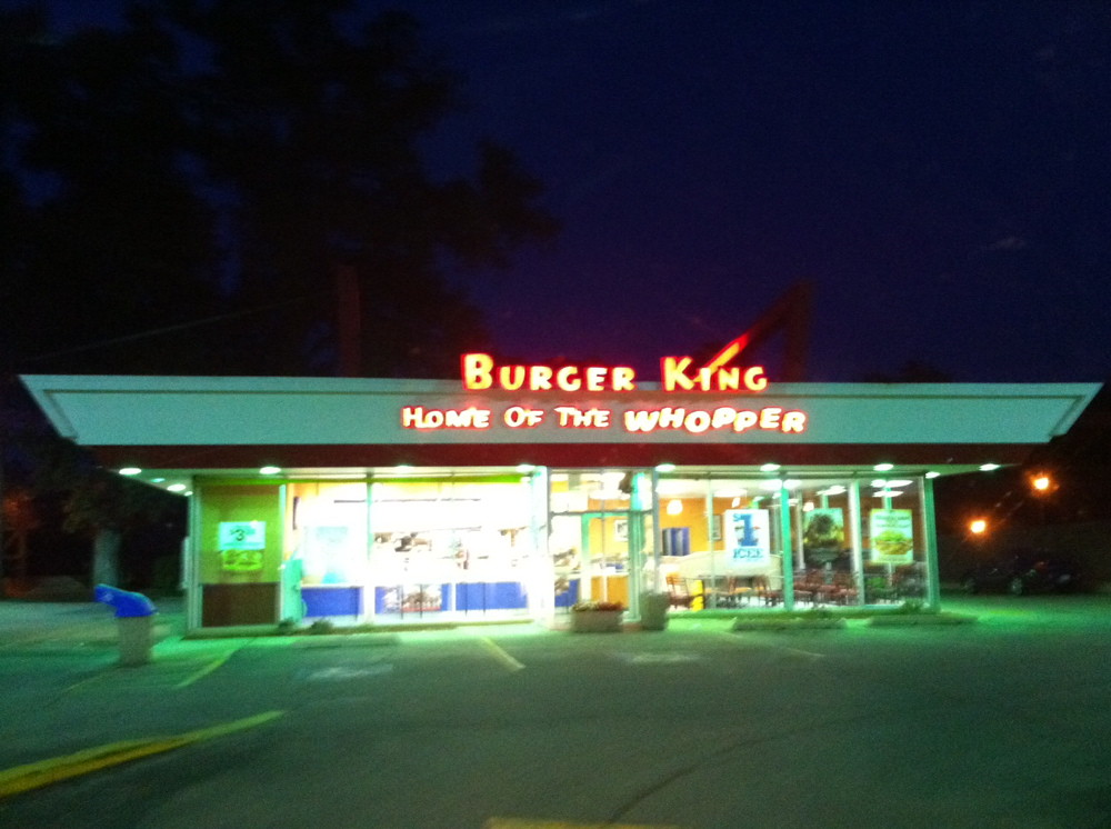 ... Vintage Burger King-Naperville, IL | by billy craven