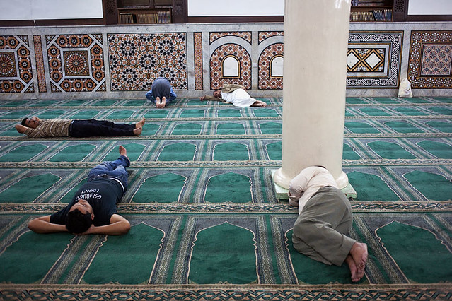 Afternoon in the mosque - Amman, Jordan