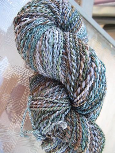 Handspun falkland wool yarn