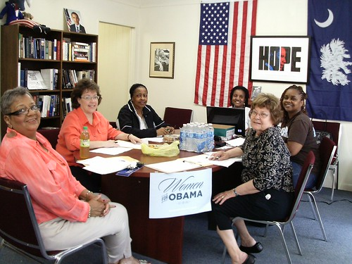 Women for Obama in Greenville