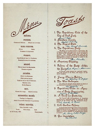 020-78TH ANNIVERSARY OF LINCOLN'S BIRTHDAY -1887-Menu-NYPL