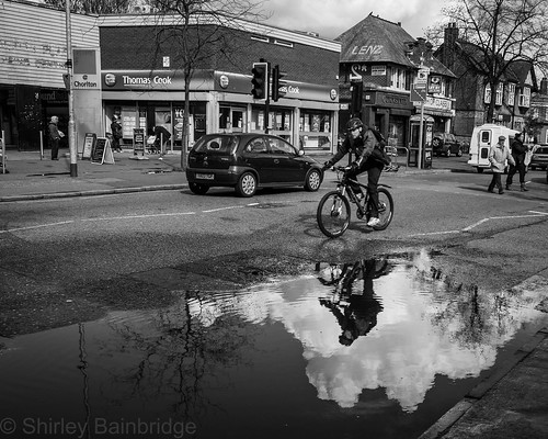 suburban cyclist by The Neepster