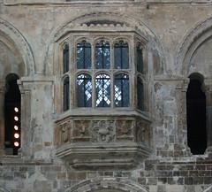 internal oriel window