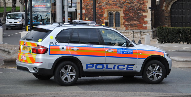 Metropolitan Police / BMW X5 / Armed Response Vehicle / BX61 EJL