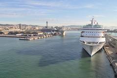 Vista de Barcelona un cop aparcat el Serenade of the Seas