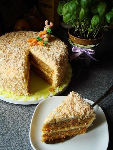 Mango Coconut Carrot Cake