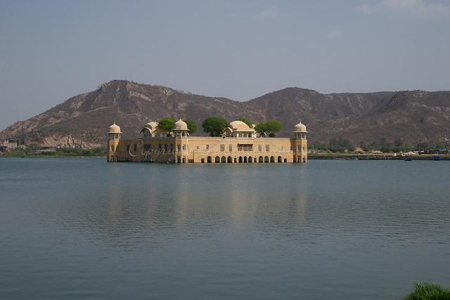 Jal Mahal lake palace Jaipur India