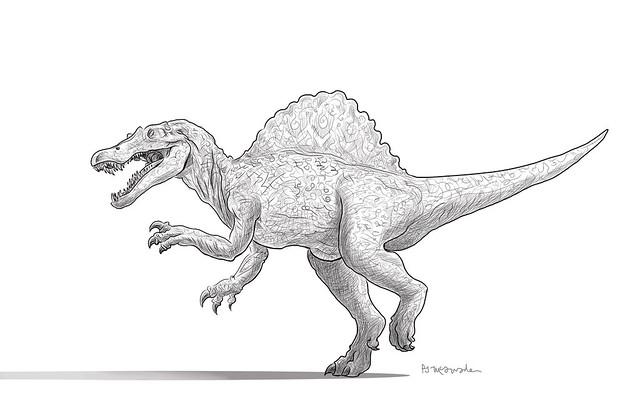 Spinosaurus-by-PJ-McQuade
