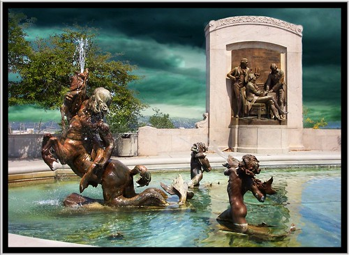 Jefferson City Mo ~ Fountain of the Centaurs ~ State Capitol Grounds