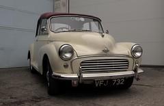 mid-size car(0.0), dkw 3=6(0.0), automobile(1.0), automotive exterior(1.0), vehicle(1.0), morris minor(1.0), compact car(1.0), antique car(1.0), vintage car(1.0), land vehicle(1.0), luxury vehicle(1.0),