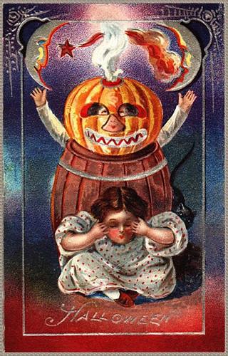 Halloweenchildrenwithpumpkins