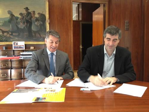 Banco Sabadell firma un convenio de colaboración financiera con Agroxarxa
