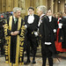 Black Rod escorts Mr Speaker,  MPs and Commons Officials Back to Central Lobby following Queen's Speech