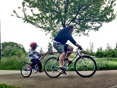 Trail-a-bike To ATA/Family School