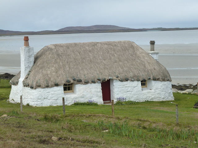 Traditional Hebridean House, North Uist