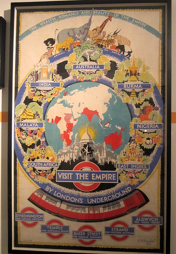 Visit the Empire by London's Underground - Mind the Map