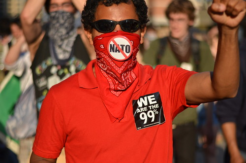 Chicago Nato Protester