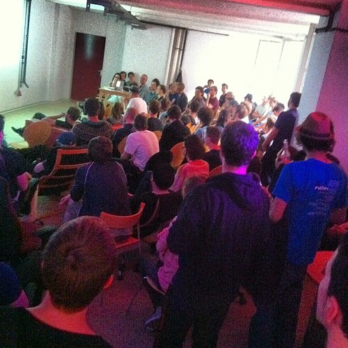 Upfront UG - so many people!