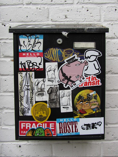 sticker box