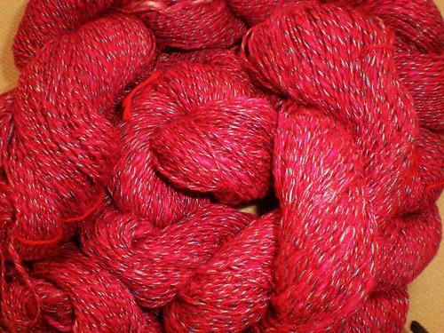 Handspun silk 2