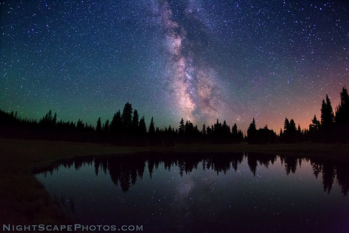 Celestial reflection - alpine wilderness