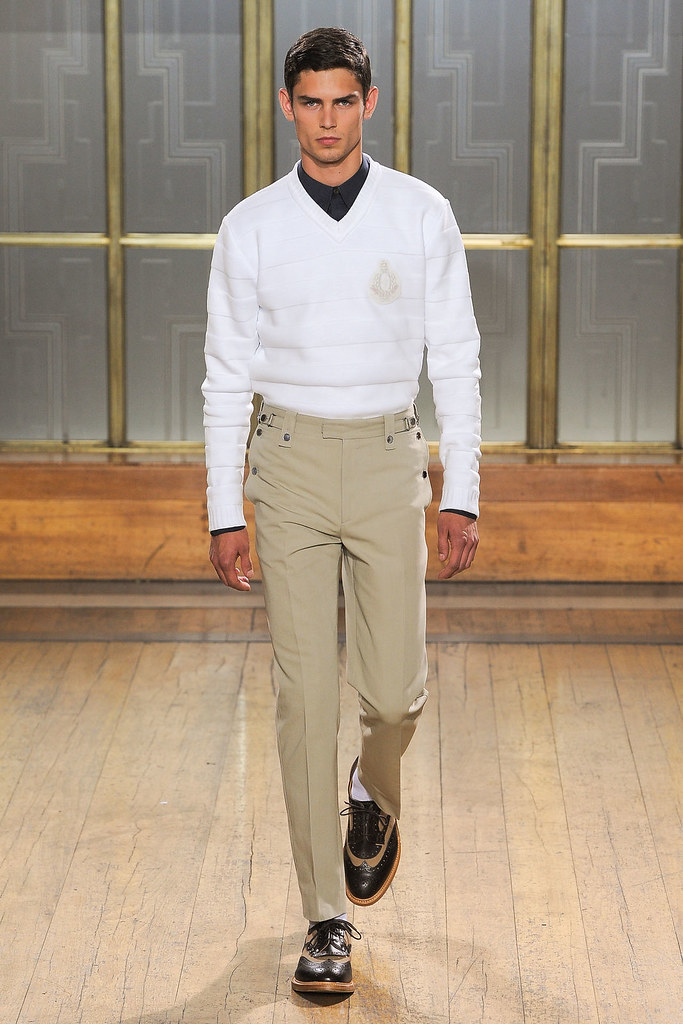 SS13 London Nicole Farhi007_Arthur Gosse(VOGUE)
