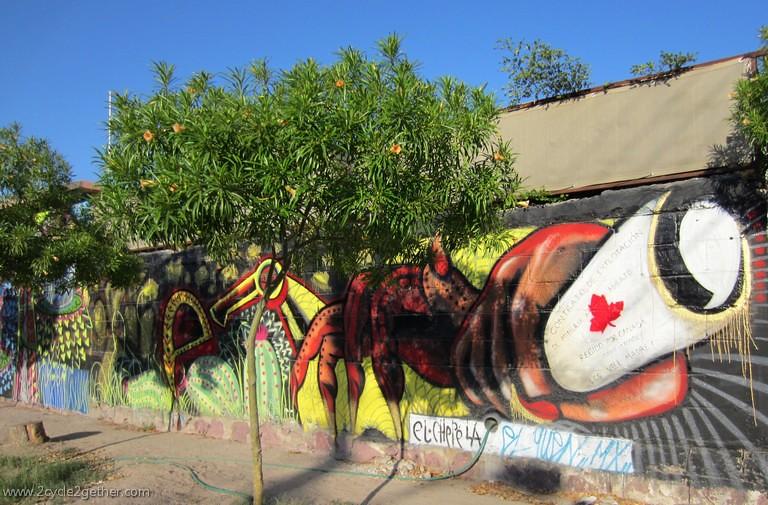 Mural in La Paz