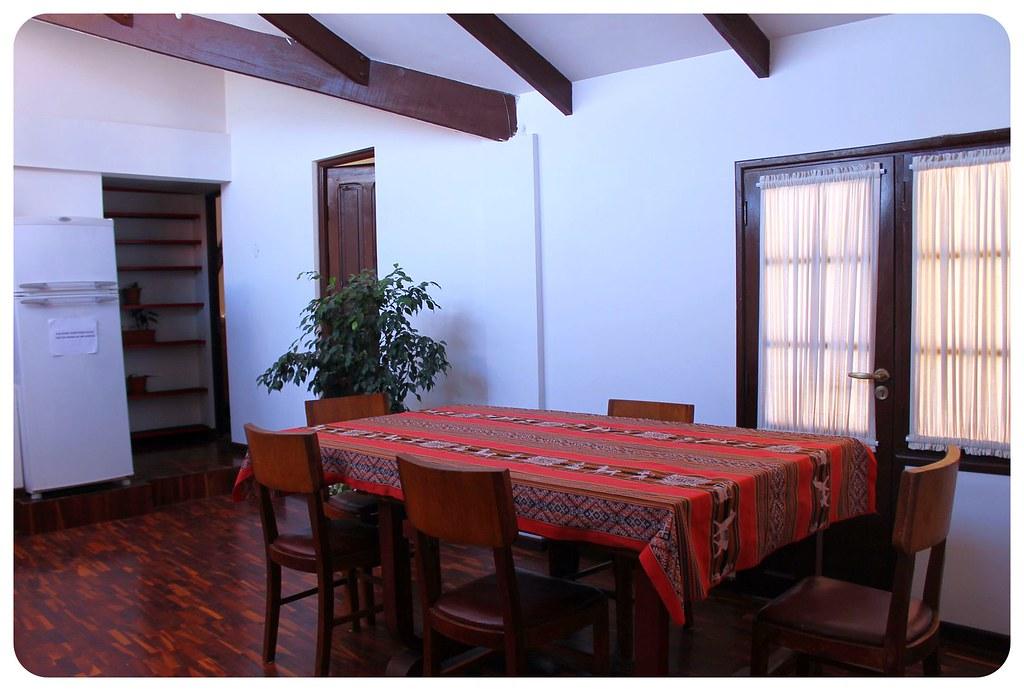 Hostal CasArte Takubamba communal room