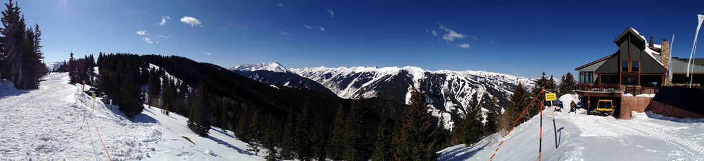 Panorama of the Elk Mountains