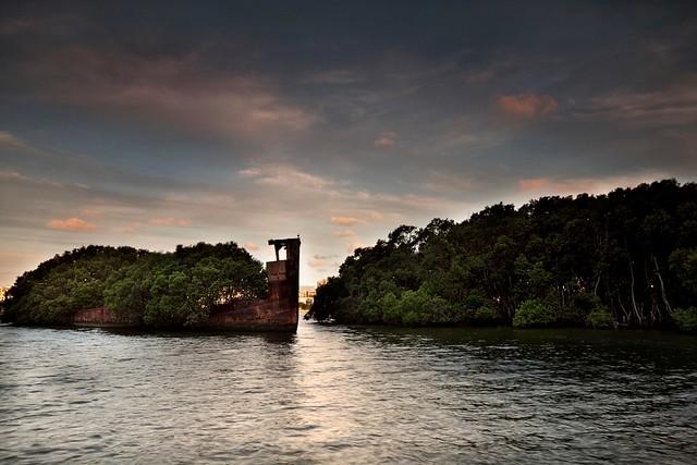 SS Ayrfield Homebush Bay NSW