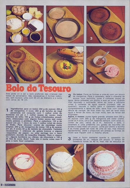 Tele Culinária e Doçaria, Especial Outono, Setembro 1980 - 16