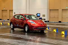 automobile, automotive exterior, vehicle, nissan leaf, automotive design, electric car, land vehicle, electric vehicle,