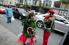 A present hails a cab & Santa's Little Secret Service
