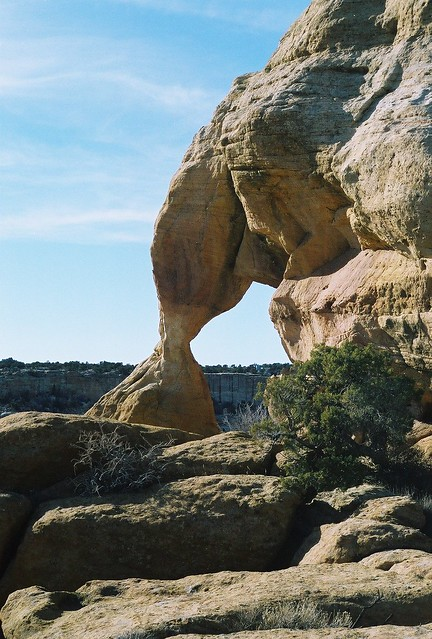 New Mexico Natural Arch NM-5 Hourglass Arch