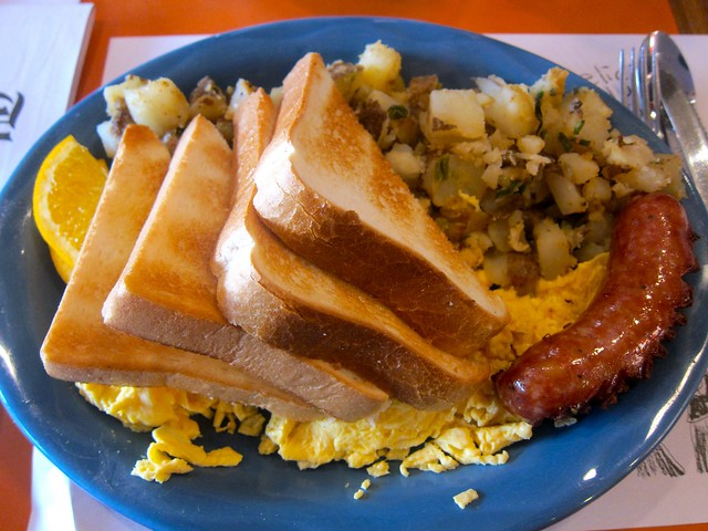 Sausage & Eggs | Sophie's Cosmic Cafe