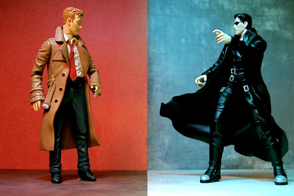 John Constantine vs. Neo (348/365)