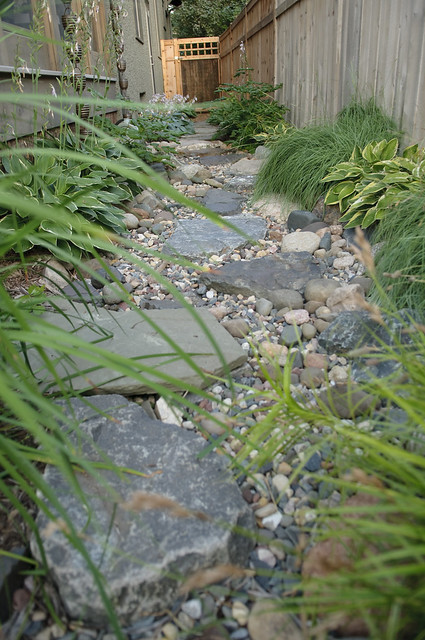 Narrow sideyard path | Flickr - Photo Sharing! on Side Yard Path Ideas id=57594